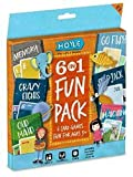 Hoyle 6 in 1 Fun Pack Kids Playing Cards Games Go Fish Crazy 8s Old Maid...