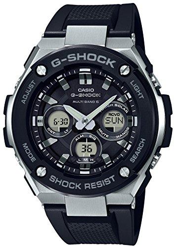 [カシオ] 腕時計 ジーショック G-STEEL 電波ソーラー GST-W300-1AJF メンズ ブラック