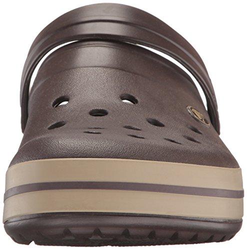 Crocs Unisex-Erwachsene Crocband Clogs, Braun - 5