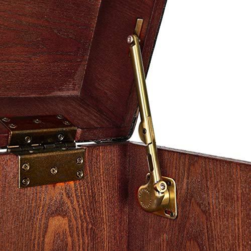 BUTLERS Hemingway Barschrank – Antike Kofferbar mit Weinregal - 9