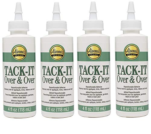 Roll Over Image to Zoom in Aleene's Tack-It Over & Over Liquid Glue 4oz (Fоur Расk)