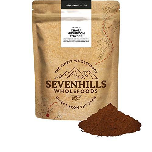 Sevenills Wholefoods Bio Chaga Pilz Pulver 500 g