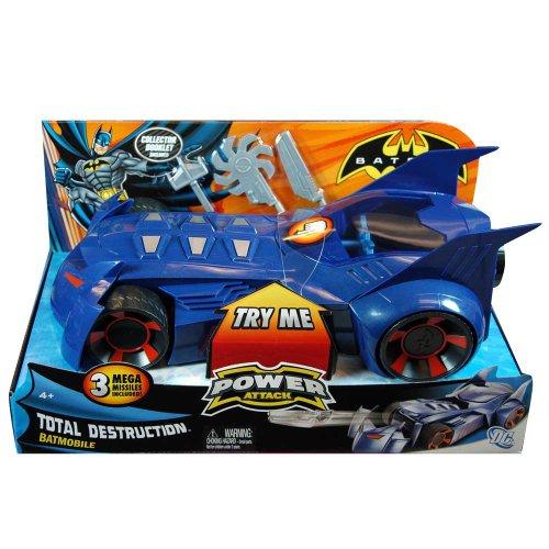 Mattel Batman Power Strike Batmobile