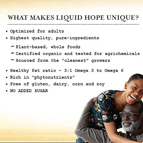Functional Formularies Liquid Hope Organic Tube Feeding Formula and Nutritional Meal Replacement Supplement, 12 Pack 4