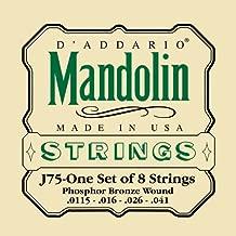 D'Addario J75 Mandolin Strings, Phosphor Bronze, Medium/Heavy, 11.5-41