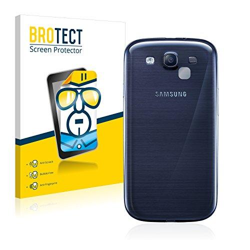 BROTECT Schutzfolie kompatibel mit Samsung Galaxy S3 Neo (NUR Kamera) (2 Stück) klare Bildschirmschutz-Folie
