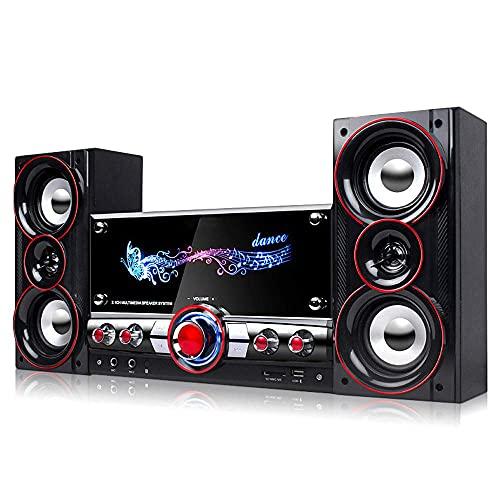 JIASHU Hi-fi Shelf System, Home Party Wireless HIFI System, bluetooth...