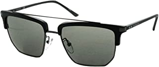 نظارات شمسية للرجال من كالفن كلاين، لون اسود، 54 ملم CK19301S