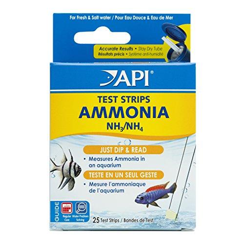 API - Tiras de Prueba 5 en 1 de Agua Dulce y Salada para acuarios