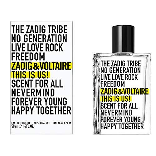 Zadig & Voltaire This Is Us! 50ml Eau De Toilette Spray, 50 ml