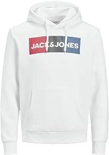 JACK & JONES Jjecorp Logo Sweat Hood Noos Cappuccio Uomo