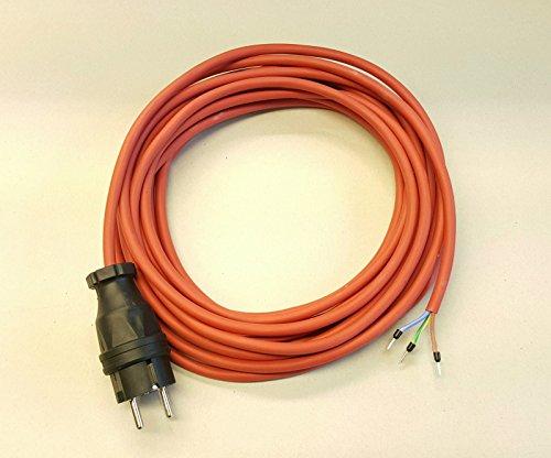 Geräteanschlusskabel SIHF Silikon Wärmebeständig 3x1,5 20m rot/braun