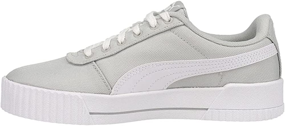 PUMA Womens Carina Cv Lace Up Sneakers Shoes Casual - Grey