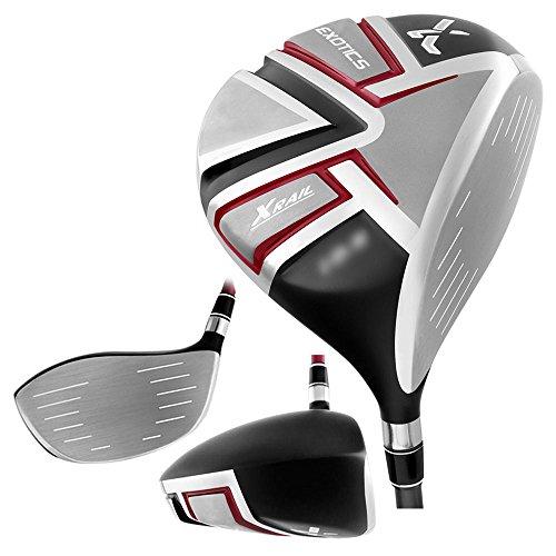 Tour Edge Exotics Xrail Golf driver, Right Hand, Graphite, Stiff, 9-degree