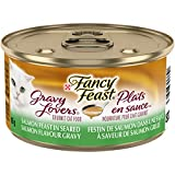 Fancy Feast Gravy Lovers Salmon Wet Cat Food, 85 g, 24 Pack