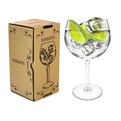 Arcoroc Cette Tige Juniper Coupe de Verres Gin & Tonic Ballon Cocktail / Lunettes Dans Une Boîte Cadeau [670]