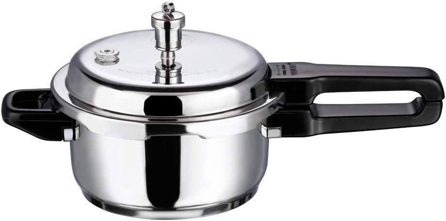 Vinod Overseas parallel import regular item V-2L Stainless Washington Mall Steel Sandwich Pressure 2-Li Bottom Cooker