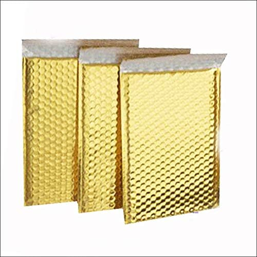ProLine Metallic Gold New life Bubble Super beauty product restock quality top! Padded Mailers 8.5x12 Inch Shipping