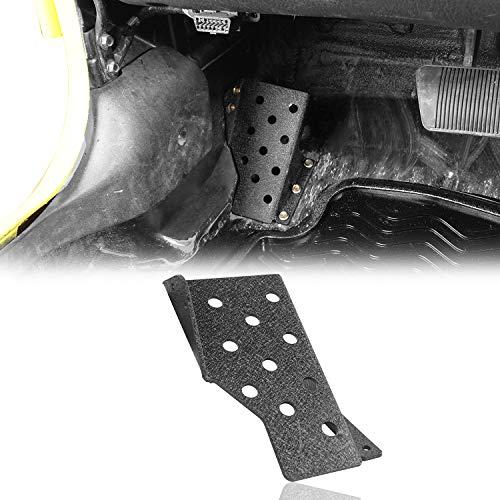 Hooke Road Dead Pedal Left Side Foot Rest Kick Panel for 1997-2006 Jeep Wrangler TJ