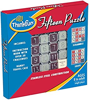 ThinkFun Fifteen Puzzle,Logic Games