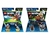 Excalibur Batman & Bionic Steed + The Lord Of The Rings Gimli Fun Packs - LEGO Dimensions - Not Machine Specific