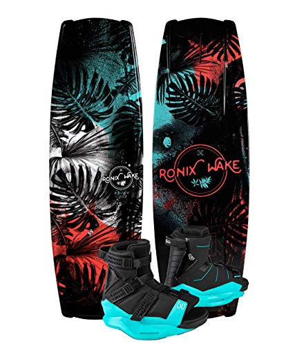 Ronix Krush 134 Women's Wakeboard Package with Halo Boots - 6-8.5