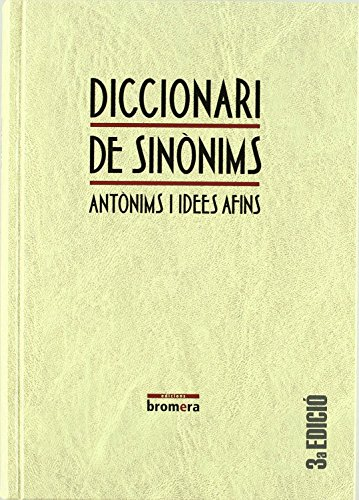 Diccionari de sinònims (MATERIALS) de Ofelia Sanmartín Bono (27 jul 2007) Tapa blanda
