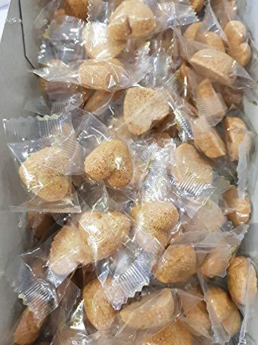 La Via del Tè ZUCCHERO BROWN IN ZOLLETTE A FORMA DI CUORE zucchero di canna 100pz