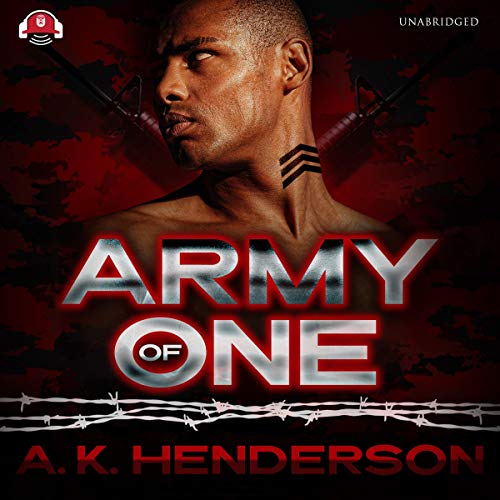Army of One audiobook cover art