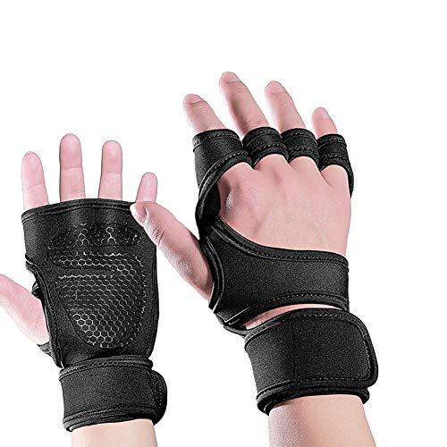 WEATLY Ciclismo guantes sin dedos for mujer y for hombre Gimnasio Bicicleta...