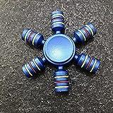 Rainbow Fidget Spinner Finger Spinner Hand Spinner Spinner ABS Spinder viene anti alivia Juguetes de estrés