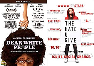 Start The Conversation, Movies Pushing For Social Change: Dear White People + The Hate U Give 2 Movie DVD Bundle BHM