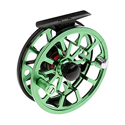 MagiDeal 3/4 5/6 WF Fly Fishing Reel with CNC-machined Aluminum Alloy Body and Spool, Right/Left Hand by MagiDeal