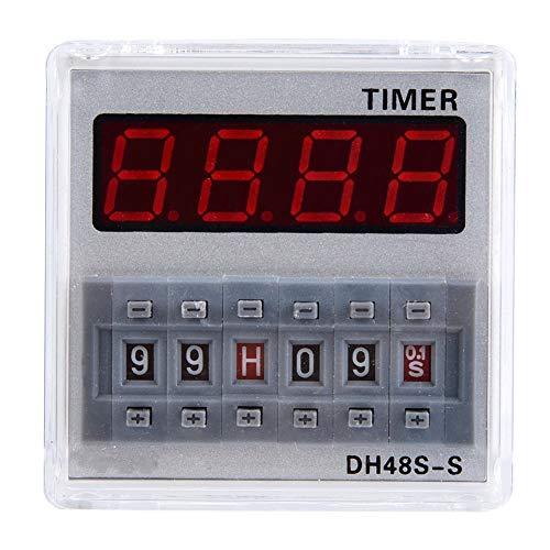 Zeitschaltuhr, programmierbare Steuerung Digitale Zeitschaltuhr mit LCD-Display für die Fernbedienung(380VAC)