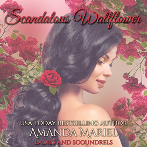 Scandalous Wallflower audiobook cover art