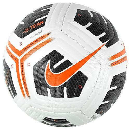 Nike CU8038-101 NK ACDMY PRO - Team FIFA SZ 5 Recreational Soccer Ball Unisex-Adult White/Black/(Total Orange) 5