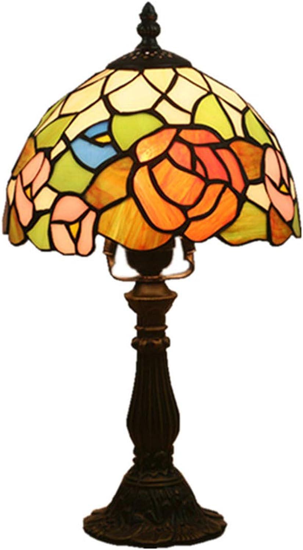 Xiuxiu Europäische Kreative Retro Glasmalerei Glasmalerei Glasmalerei Tischlampe Schlafzimmer Nachttischlampe Esszimmer Wohnzimmer Bar Mode Dekorative Tischlampe B07JFZG3SD   Qualitätskönigin  f25cb0