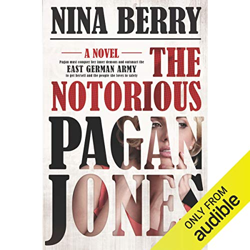 The Notorious Pagan Jones audiobook cover art