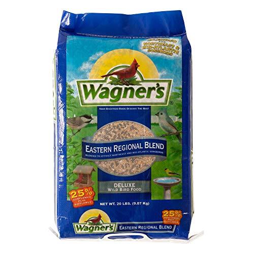 Wagner's 62004 Eastern Regional Wild Bird Food, 20-Pound Bag