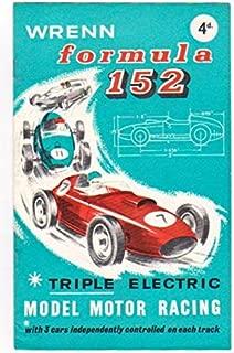 Wrenn Formula 152 : Triple Electric Model Motor Racing (Slot Cars, Track Cars)