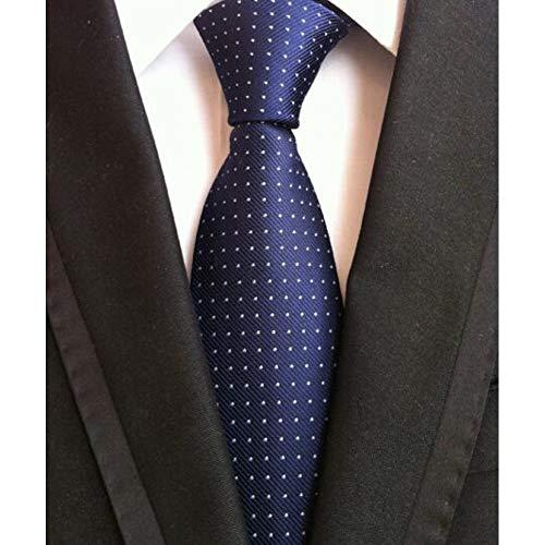 ABDYTE Modische Mode Classic Herren Streifen Seidenkrawatte Schwarz Rot Weiß Orange Marineblau Lila Beige Grün Gelb Krawatten