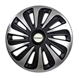 MICHELIN 009122 boîte 4 enjoliveurs 15' NVS 3D Black Edition, Noir, Set de 4