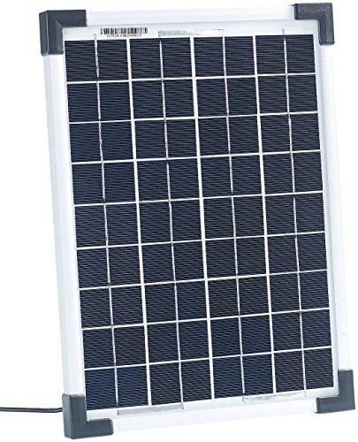 revolt Kleine Solarzelle: Mobiles Solarpanel mit monokristalliner Solarzelle 10 W (Solarplatten)