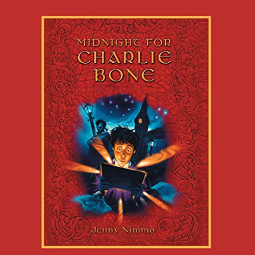Midnight for Charlie Bone audiobook cover art