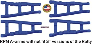 RPM 2 Pack 80705 Front Rear Blue A-Arms /Fits Traxxas 4x4 Slash Stampede & Rally 4wd VXL
