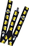 German Suspenders Fancy Dress Accessory...