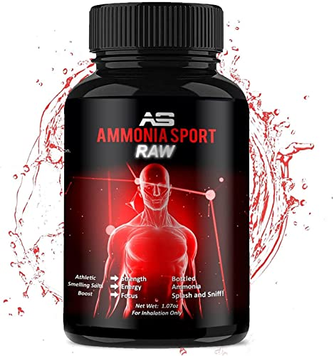 AmmoniaSport Athletic Smelling Salts - Ampules (25) Ammonia Inhalant