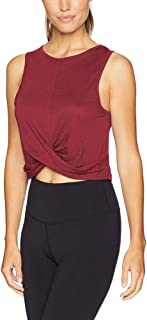 Bestisun Womens Cropped Workout Tops Flowy Gym Workout Crop Top Athletic Yoga Shirts