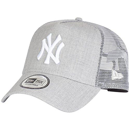 New Era York Yankees Adjustable Trucker cap MLB Heather 2 Heather Grey - One-Size