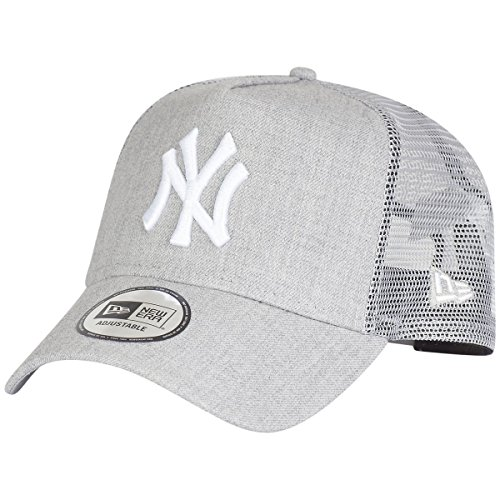 New Era MLB Heather Truck Neyyan HGR Cap, Grey/Gris, One Size